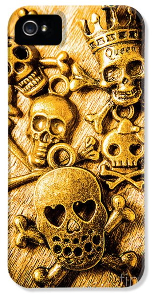 IPhone 5 Case featuring the photograph Skulls And Crossbones by Jorgo Photography - Wall Art Gallery