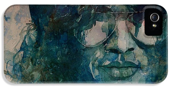 Musician iPhone 5 Case - Slash  by Paul Lovering