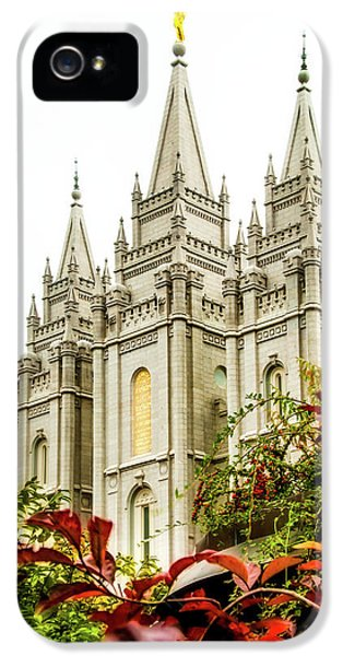 Slc Temple Angle IPhone 5 Case