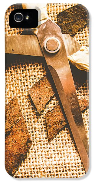 Damage iPhone 5 Case - Slicing Of Segmented Leaves by Jorgo Photography - Wall Art Gallery