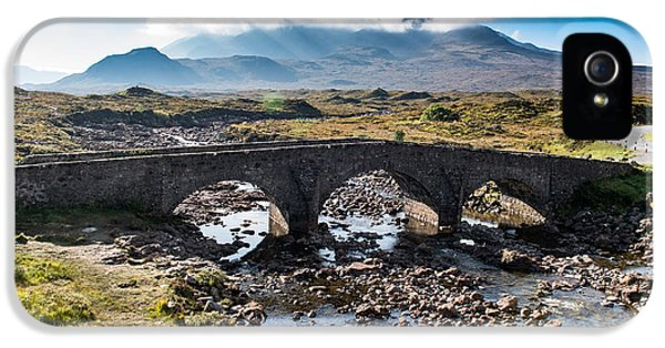 IPhone 5 Case featuring the photograph Skye Cuillin From Sligachan by Gary Eason