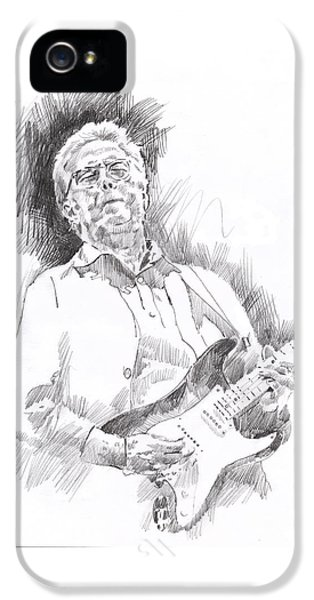 Slowhand IPhone 5 / 5s Case by David Lloyd Glover