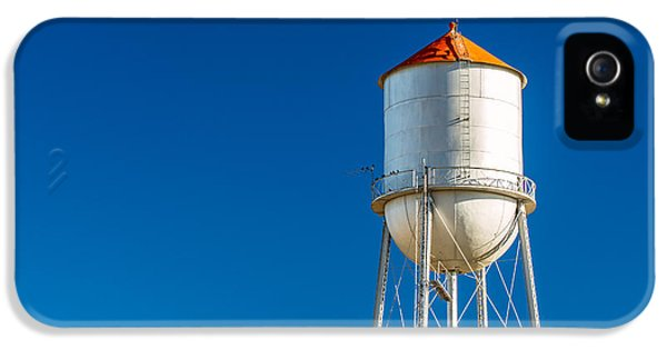 Small Town Water Tower IPhone 5 Case by Todd Klassy