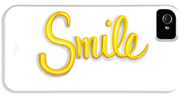 Smile IPhone 5 Case by Cindy Garber Iverson