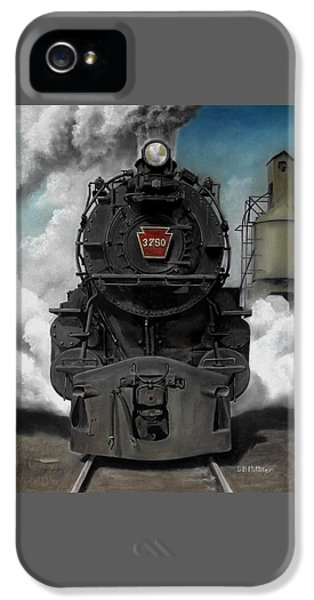 Transportation iPhone 5 Case - Smoke And Steam by David Mittner