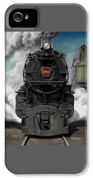 Train iPhone 5 Case - Smoke And Steam by David Mittner