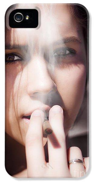 Smoke IPhone 5 Case by Jorgo Photography - Wall Art Gallery