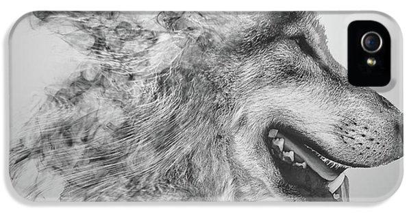 Smokey Wolf IPhone 5 Case