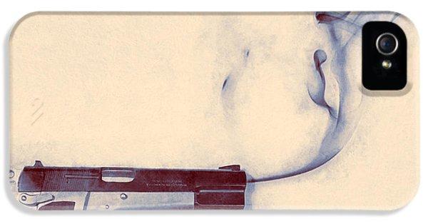 Smoking Gun IPhone 5 Case