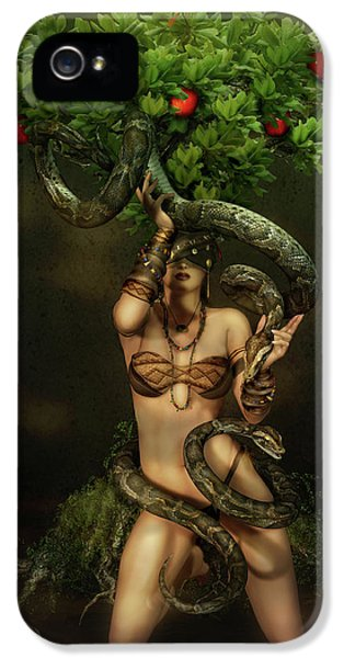 Python iPhone 5 Case - Snake Charmer by Shanina Conway