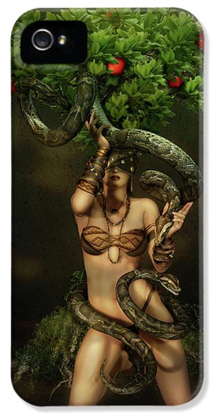 Snake Charmer IPhone 5 Case by Shanina Conway