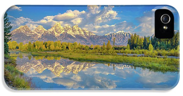 Snake River Reflection Grand Teton IPhone 5 Case
