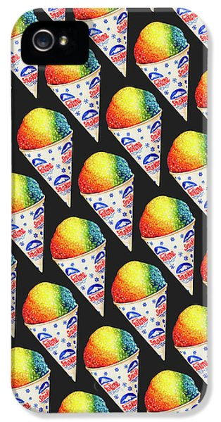 Snow Cone Pattern IPhone 5 Case by Kelly Gilleran