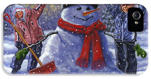 Snow Day IPhone 5 Case by Richard De Wolfe