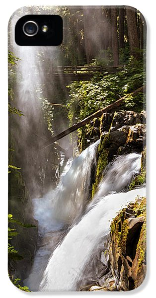 IPhone 5 Case featuring the photograph Sol Duc Falls by Adam Romanowicz