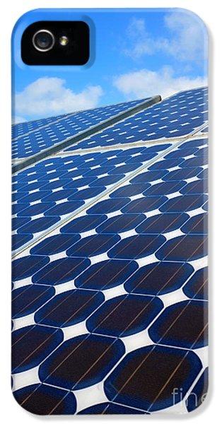Solar Pannel IPhone 5 Case by Carlos Caetano