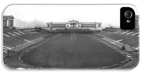 Soldier Field In Chicago IPhone 5 Case by Underwood Archives