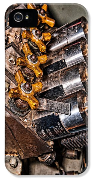 Solenoid Valves IPhone 5 Case by Christopher Holmes