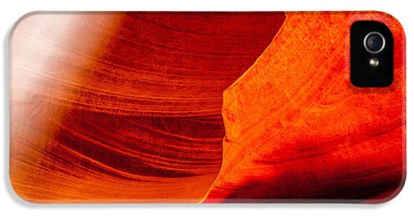 Featured Images iPhone 5 Case - Solitary Beam by Az Jackson
