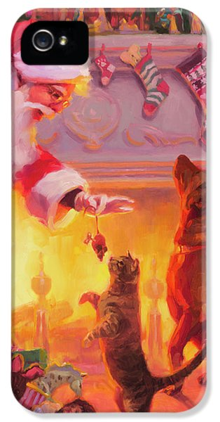 Mouse iPhone 5 Case - Something For Everyone by Steve Henderson