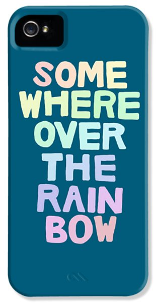 Somewhere Over The Rainbow IPhone 5 / 5s Case by Priscilla Wolfe