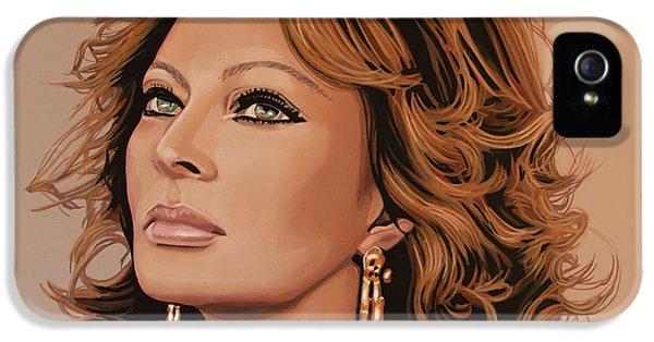 Sophia Loren 3 IPhone 5 Case