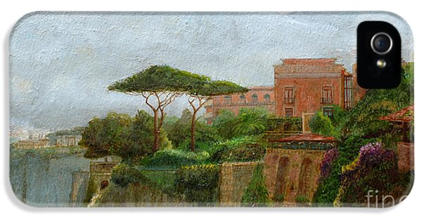 Mountain iPhone 5 Case - Sorrento Albergo by Trevor Neal