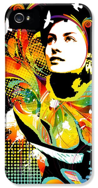 Soul Explosion II IPhone 5 Case by Chris Andruskiewicz