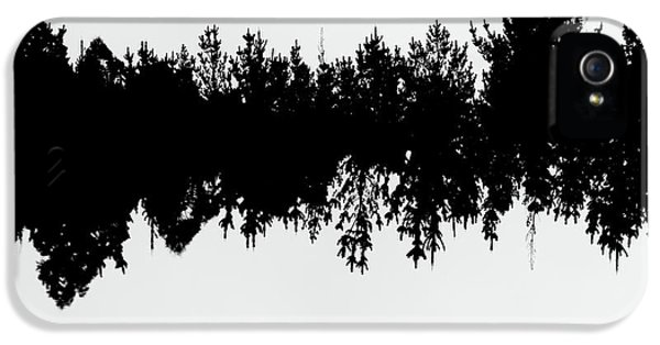 Sound Waves Made Of Trees Reflected IPhone 5 Case