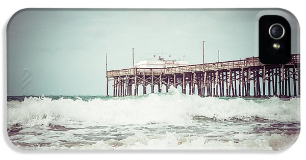 Southern California Pier Vintage 1950s Picture IPhone 5 Case by Paul Velgos