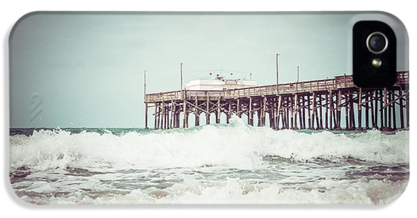 Southern California Pier Vintage 1950s Picture IPhone 5 / 5s Case by Paul Velgos