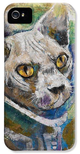 Space Cat IPhone 5 Case
