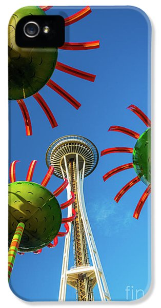 Space Needle Bloom IPhone 5 Case by Inge Johnsson