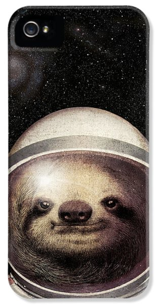 Space Sloth IPhone 5 Case