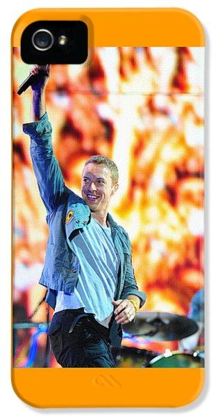 Coldplay4 IPhone 5 Case by Rafa Rivas