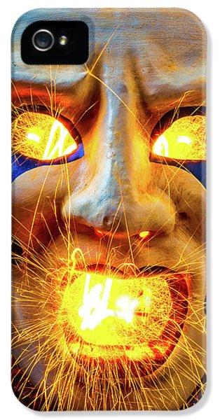 Sparking Mask IPhone 5 Case