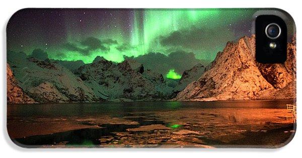 Spectacular Night In Lofoten 1 IPhone 5 Case