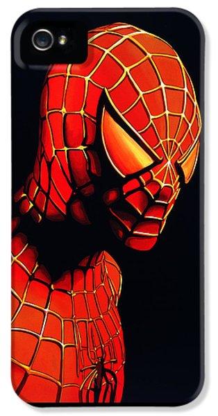 Spiderman IPhone 5 Case by Paul Meijering
