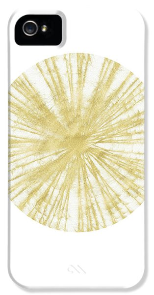 Spinning Gold Ball Art By Linda Woods IPhone 5 Case