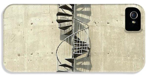 iPhone 5 Case - Spiral Staircase by Julie Gebhardt