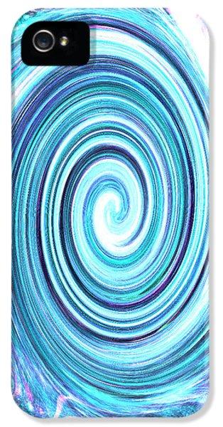 iPhone 5 Case - Spirit Of Sky I by Orphelia Aristal