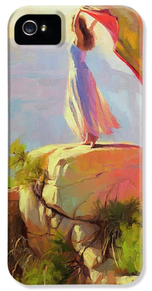 Grand Canyon iPhone 5 Case - Spirit Of The Canyon by Steve Henderson