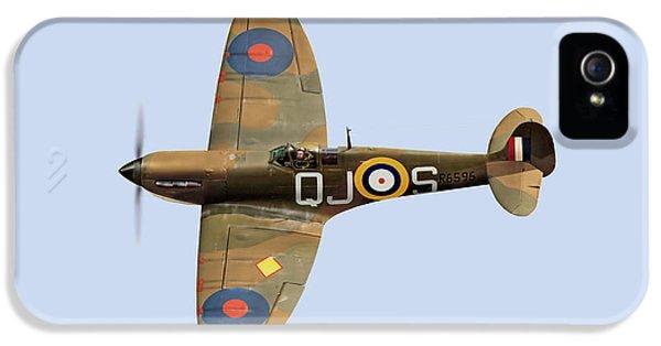 Spitfire Mk 1 R6596 Qj-s IPhone 5 Case