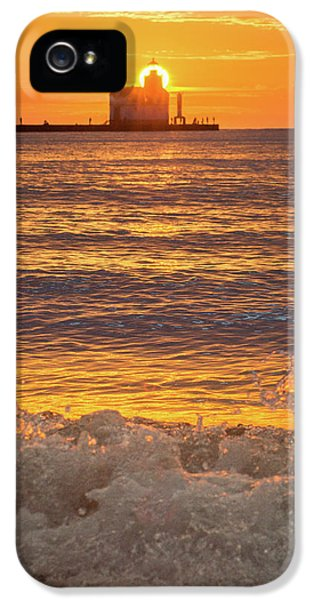 IPhone 5 Case featuring the photograph Splash Of Light by Bill Pevlor