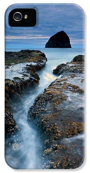 Splitting Stone IPhone 5 Case by Mike  Dawson