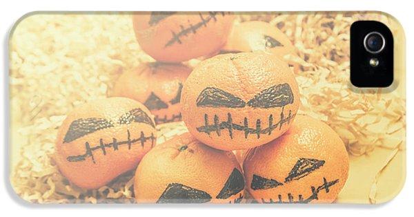 Spooky Halloween Oranges IPhone 5 Case