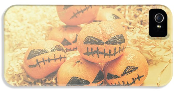 Spooky Halloween Oranges IPhone 5 Case by Jorgo Photography - Wall Art Gallery