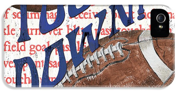 Sports Fan Football IPhone 5 Case