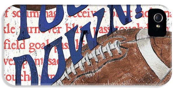 Sports Fan Football IPhone 5 / 5s Case by Debbie DeWitt