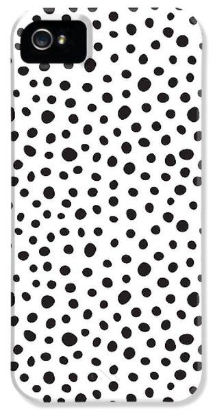 Day iPhone 5 Case - Spots by Rachel Follett